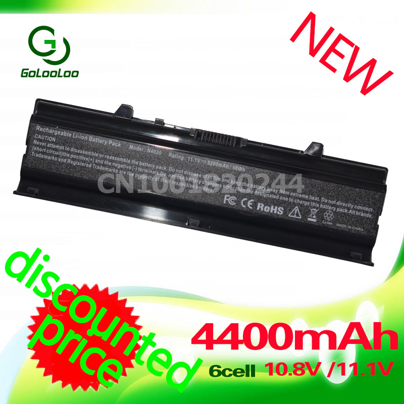Golooloo Laptop Battery For Dell DELL Inspiron 14V 14VR N4020 N4030 M4010 N4030D M4050 04J99J 0FMHC1 0TKV2V 0W4FYY 0YM5H6 0YPY0T