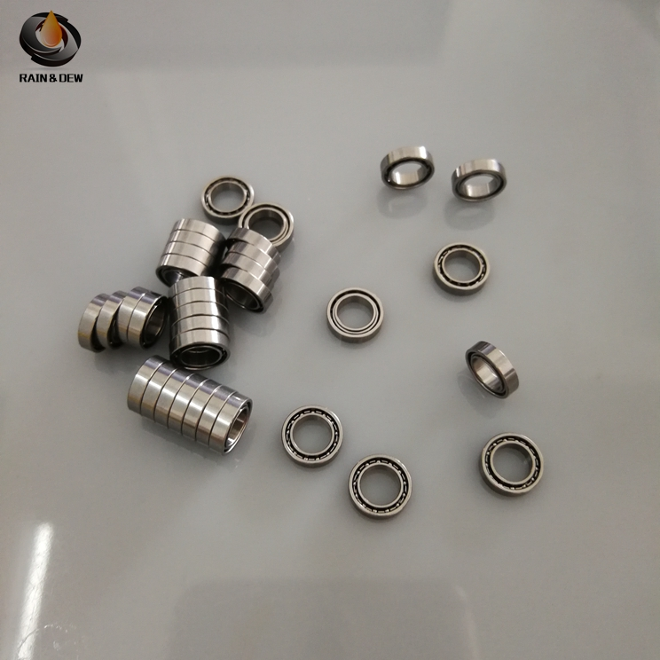 High Quality 5x8x2 Stainless Steel Ball Bearing 10PCS SMR85 Open Ball Bearings 5*8*2 ABEC-7 P6 L-850 SMR85 Small Bearings