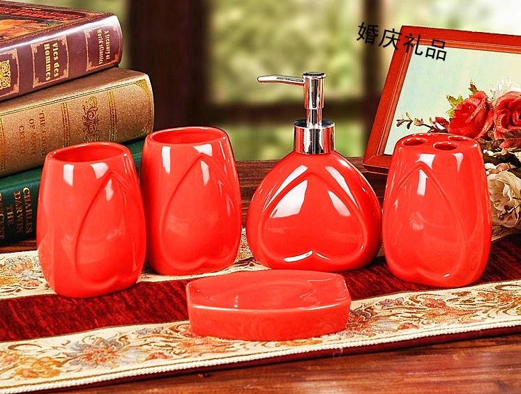 rode badkamer set-koop goedkope rode badkamer set loten van, Badkamer