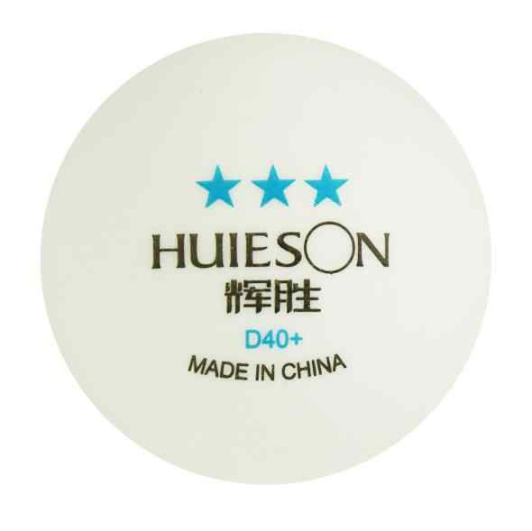 Huieson New Material ABS 3 Star 40+ Game Table Tennis pingpong 50pcs/barrel