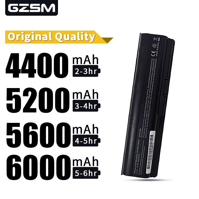Bateria nova do portátil das pilhas de hsw 5200 mah 6 para a bateria do portátil de hp pavilion g4 g6 g7 cq42 cq32 g42 cq43 g32 dv6 dm4 430 593553-001 mu06