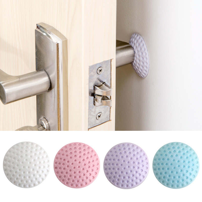 Hot Selling Corner Guards Noise Reduce Doorstop Adhesive Buffer Corner Guards Round Baby Safety Guards Edge
