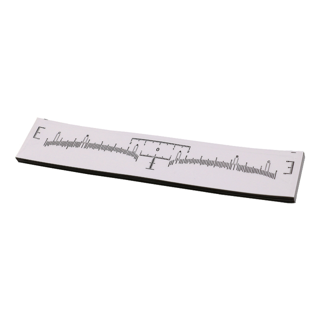 Disposable Eyebrow Ruler Sticker Eyebrow Shaping Tools Makeup Measurement Guide Ruler Stencil Makeup 5