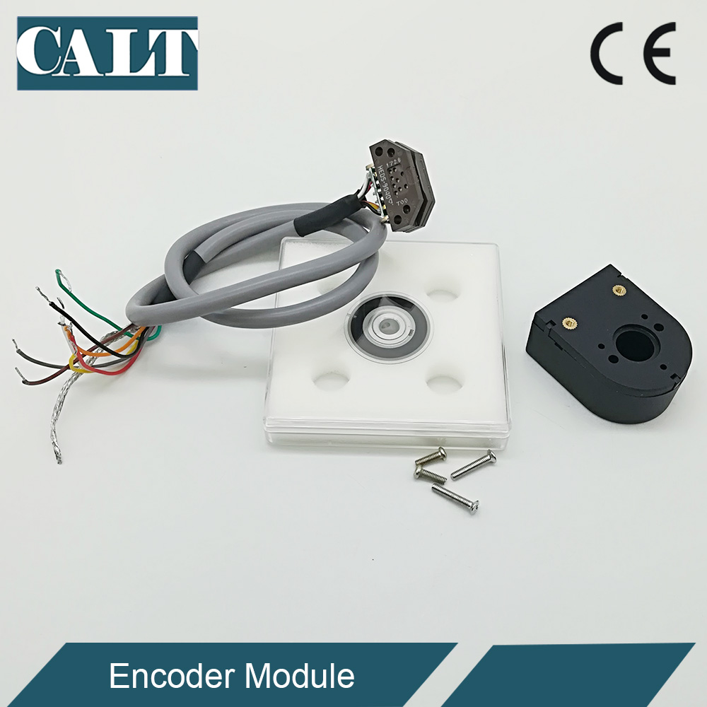 PD32 DC servo stepper motor encoder discs 200 500 512 1000pulse 6mm hole 5v line driver