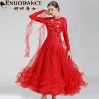 Graceful dancer ballroom dance new dress waltz