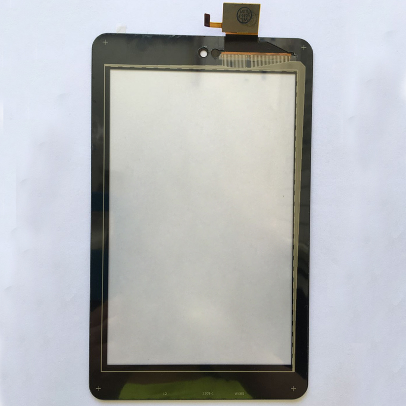 100% Test Black For Dell T01C Venue 7 3730 3740 Front Touch Screen Digitizer Panel Glass Sensor new touch screen with digitizer panel front glass for dell t01c venue 7 3730 free shipping