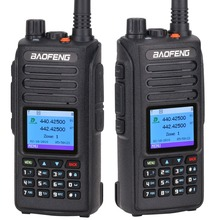 2 шт. Baofeng DM-1702 (gps) цифровая рация УКВ двухдиапазонный DMR Dual Time слот уровня 1 и цифровой DM 1702 портативный радио