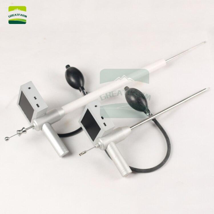 Vache visuel endoscope pistolet à sperme inséminationorse artificielle sans technologie dispositif d'insémination vas déférens pas de fumier de vache