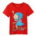 Free Shipping ! Original Designed Premium 100%Cotton Jersey with Cartoon Print Short Sleeve boy's t shirt . Exclusive !