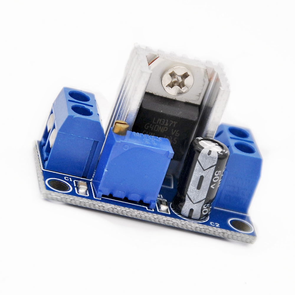 5pcs Lm317 Dc Converter Step Down Circuit Board Adjustable Linear Voltage Regulator Schematic