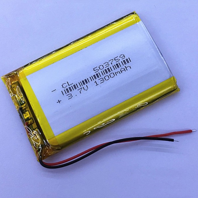 Nuevo mejor de la batería de 3,7 V batería de polímero de litio e ruta HD-X9 navigator batería recargable 053759 503759 1300 MAH GPS