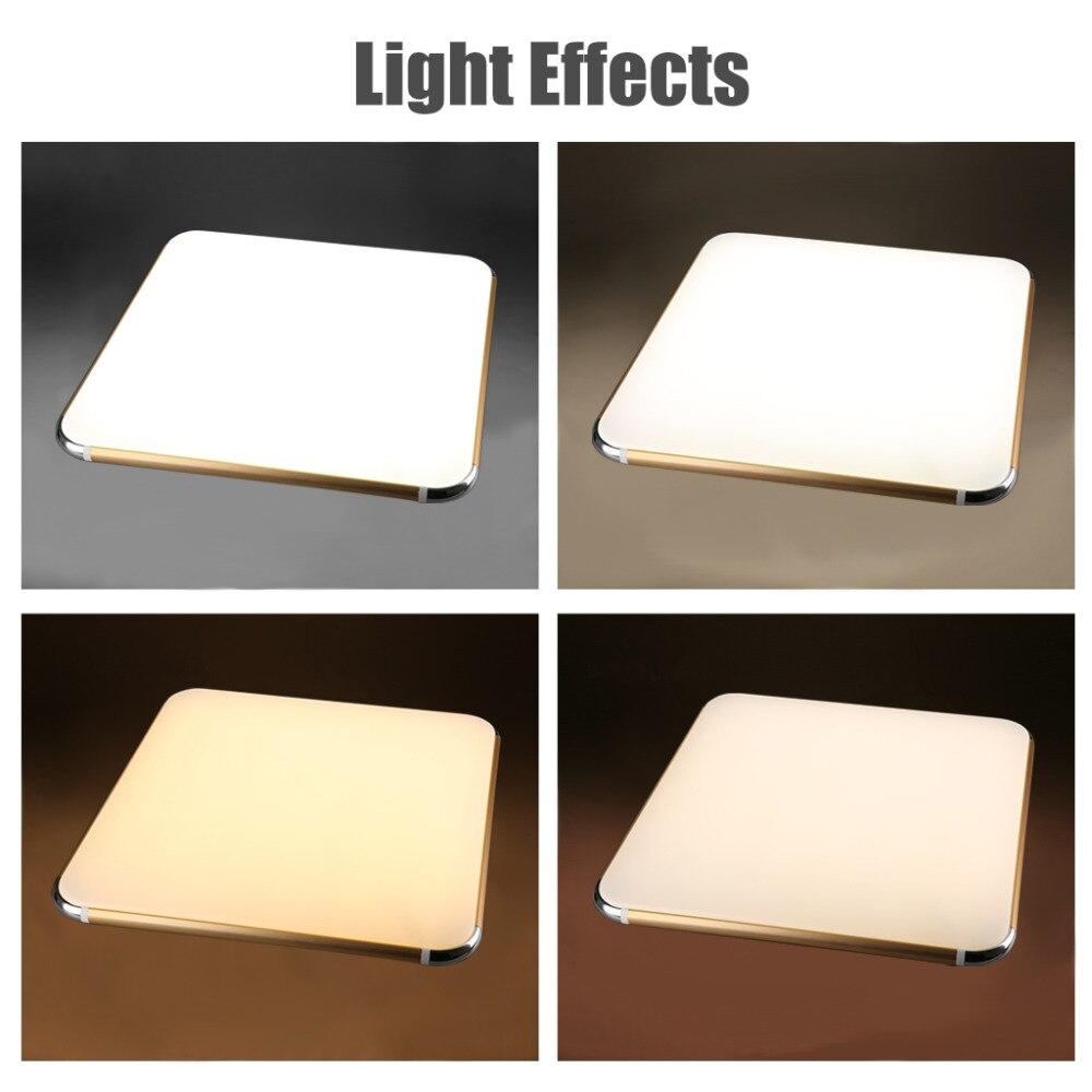 Aliexpress Wohnzimmer Lampe Deckenleuchte LED 64 Watt Kinder Schlafzimmer Deckenleuchten Gold Silber Lampenschirm Fr Zu Hause Beleuchtung