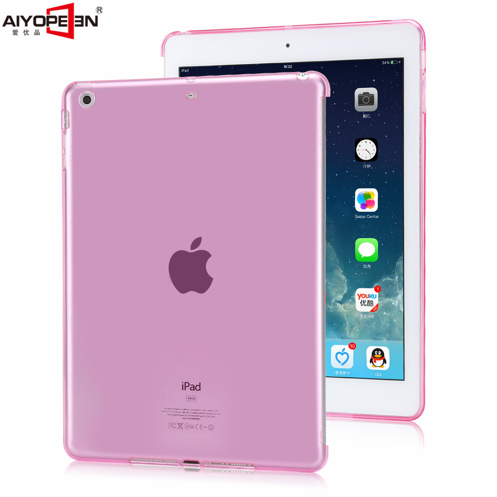 for ipad mini 2 3 case soft TPU shockproof back cover for apple ipad mini 2 3 crystal transparent Ultra Thin Slim floveme 7 9 mini4 transparant slim thin cover for apple ipad mini 4 case soft silicone gel crystal clear back funda cases