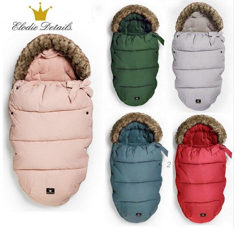 Аутентичные коляска спальный мешок Детские коляски ножки 0-36 м дети теплый конверт Sleepsacks ножки для коляски Elodie Details