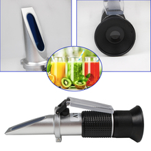 цена на 0-90% Brix RHB-90ATC  Optical Refractometer  Sugar Beer Fruit Sugar Meter test for suger beer