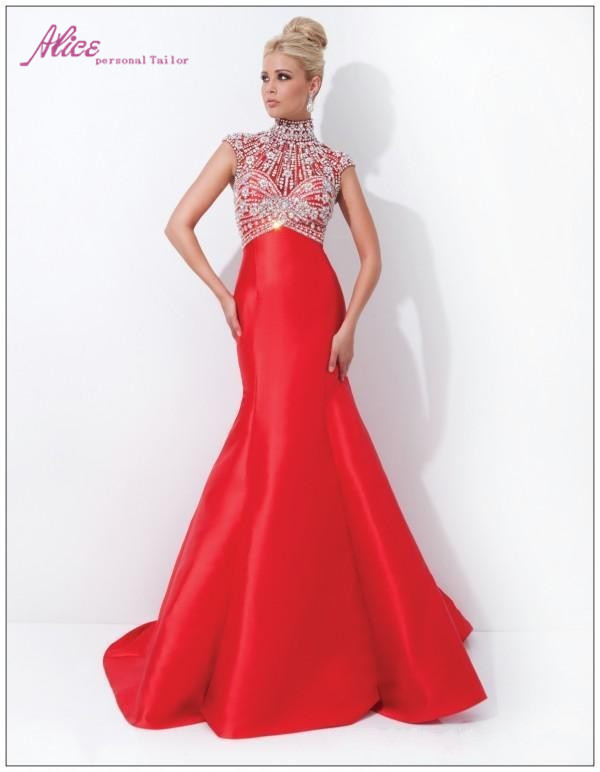 Red Pageant Dresses - Qi Dress