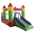 Yard Новый Отказов Дом Двойной Слайдер С Воздуходувки Прыжки Замок Для Детей Надувные Слайд И Мяч Бассейн