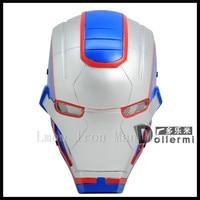 Top Quality The Avengers Super Hero Iron Man Mask Masquerade Costume Cosplay Casco Maschera di Halloween Captain America 3 Guerra Civile