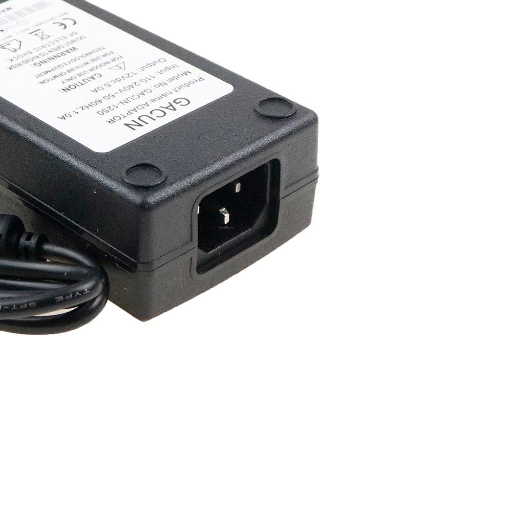 Chincolor DC 12 В 1A 2A 3A 4A 5A 6a свет Мощность адаптер Led Питание адаптер диск для 5630 5050 3528 свет с DA