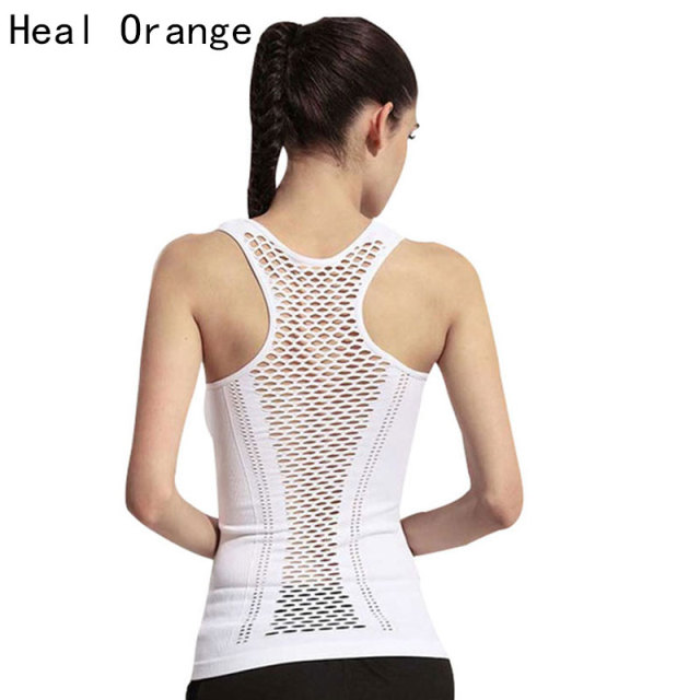 Sexy Hollow Back Top Yoga Shirt  Clothing