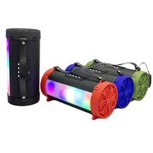 CINSOO bluetooth динамик сабвуфер светодиодный Hifi портативный с супер басами вечерние колонки наружный динамик