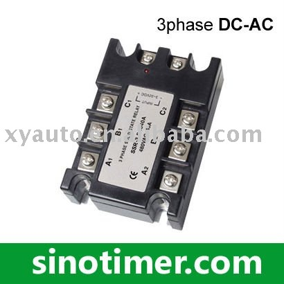 3 phase solid state relay (DC-AC) normally open single phase solid state relay ssr mgr 1 d48120 120a control dc ac 24 480v