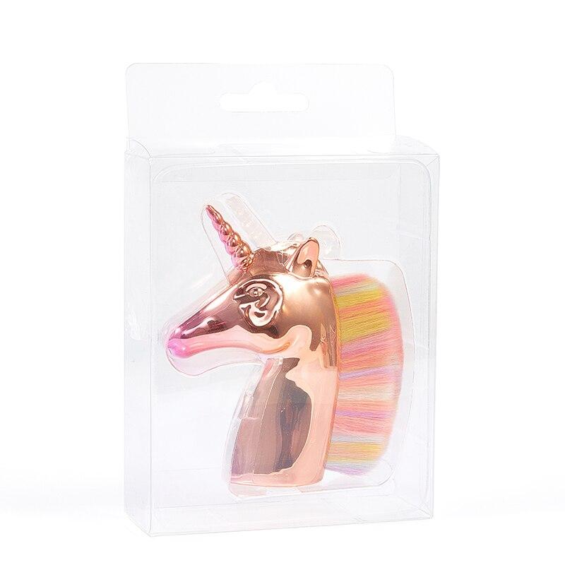 Cor de Cabelo Unicorn Cavalo Sintético Rosto Cosméticos