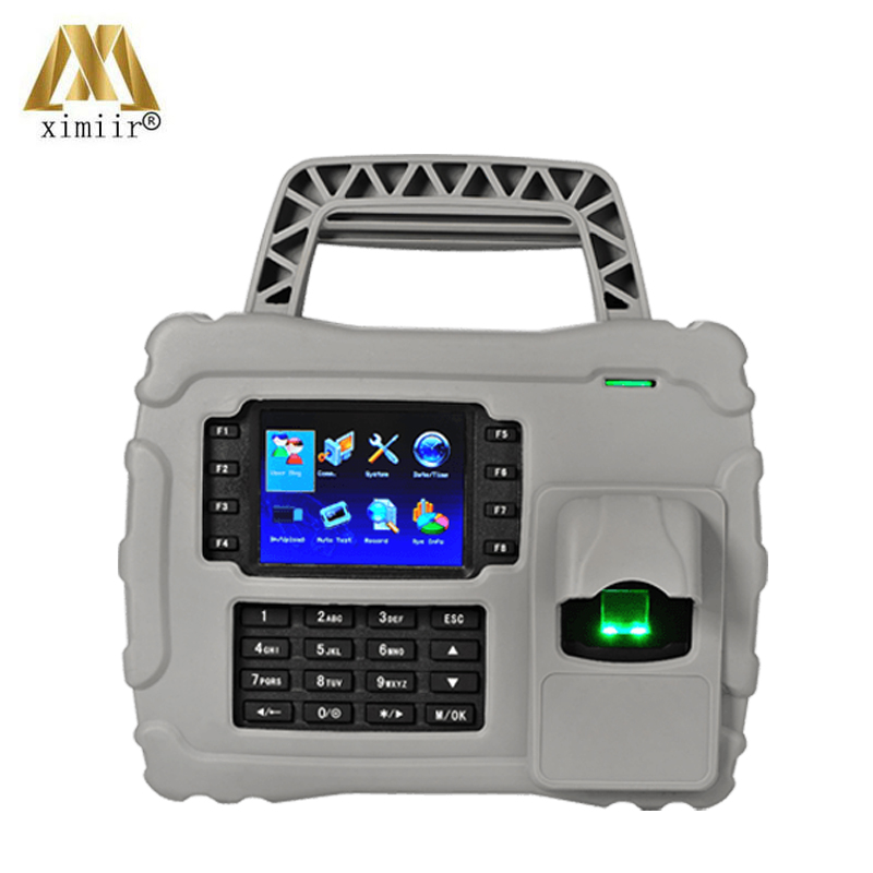 IP65 S922 5000 User Fingerprint Capacity WIFI TCP/IP Fingerprint Time Attendance IC Card Time Recording With Backup Battery
