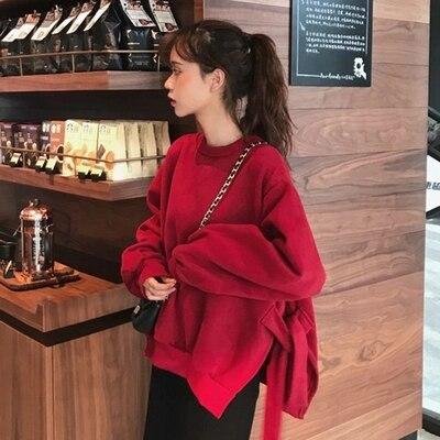 2019 nouveauté sweat à capuche Harajuku femmes coréen étranger chose Bts sweat à capuche exo pull Crop sweat à capuche moins cher offre spéciale