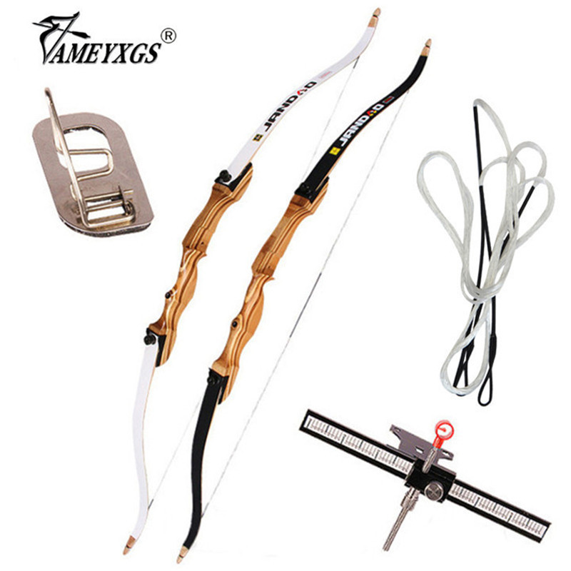 1pc 68 70inch Archery 20 40lbs Recurve Bow Wooden Bow Riser Adults Traditional Longbow Right Hand