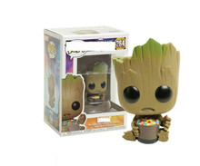 цена на Funko POP Anime Guardians Of The Galaxy 2 Collection Model Toys Movie Action Figure For Children Birthday Gift