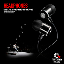 Original MYKIMO Earphone MK100 3.5mm In-ear auriculares High Quality Super Clear Noise Isolating Earbud Mic MP3 MP4 audifonos