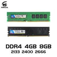 VEINED ddr4 8 gb PC Computer RAM 4GB 8GB 4G 8G Memory DDR 4 PC4 2133 2400 2666Mhz Desktop Motherboard Memoria 284 pin