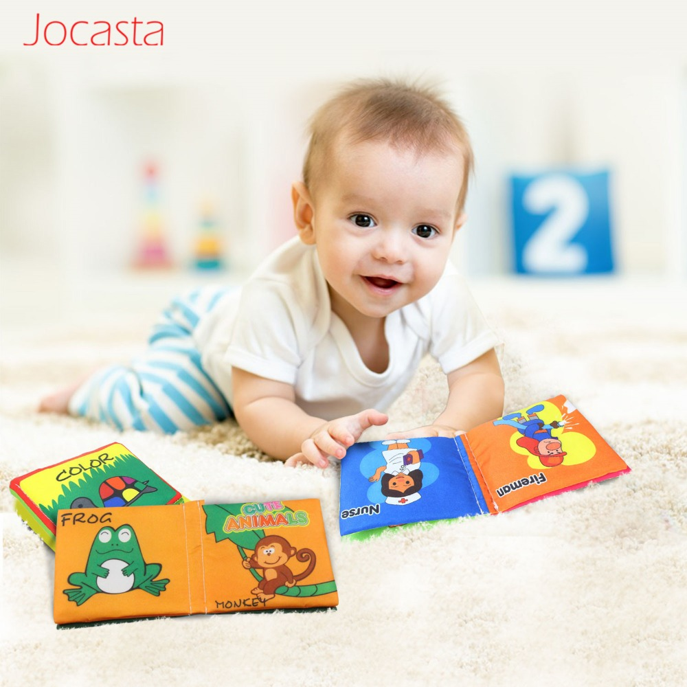12 Styles Soft Cloth Books Rustle Sound Infant Educational Early Stroller Rattle Toy Kids Newborn Crib Bed Cognition Baby Toys