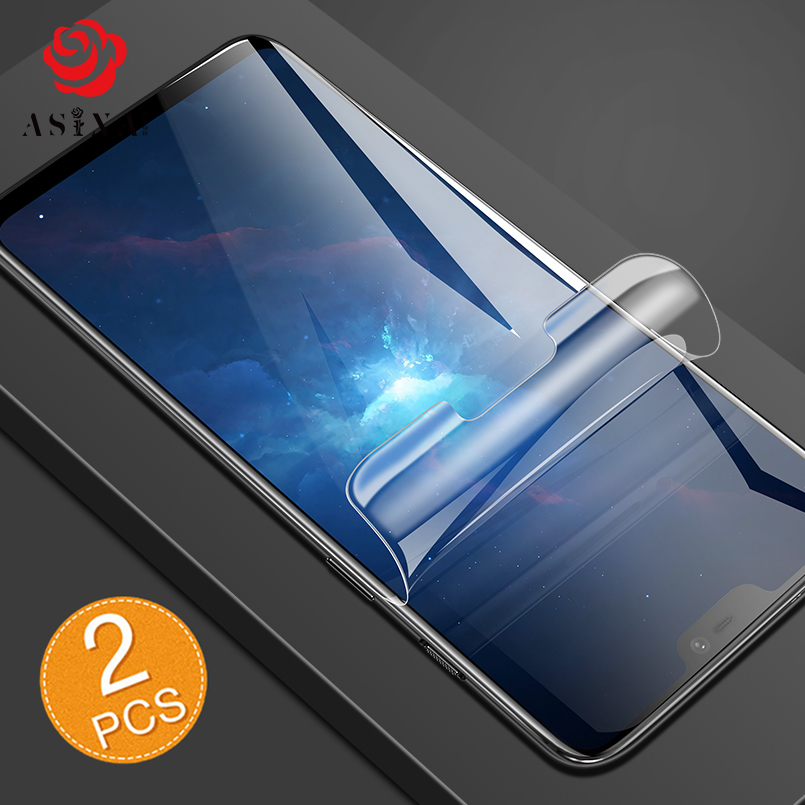 Screen Protector Film For Oneplus 6 Soft PET Explosion proof Phone Surface Protector Film For Oneplus in Phone Screen Protectors from Cellphones Telecommunications