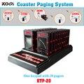 O sistema de paginação de venda quente 1 pcs teclado 20 pcs montanha Pager auto serviço de refeições tomar Pager