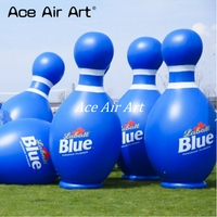 come with air blower & logo advertising giant inflatable bowling ball replica for sale made in China