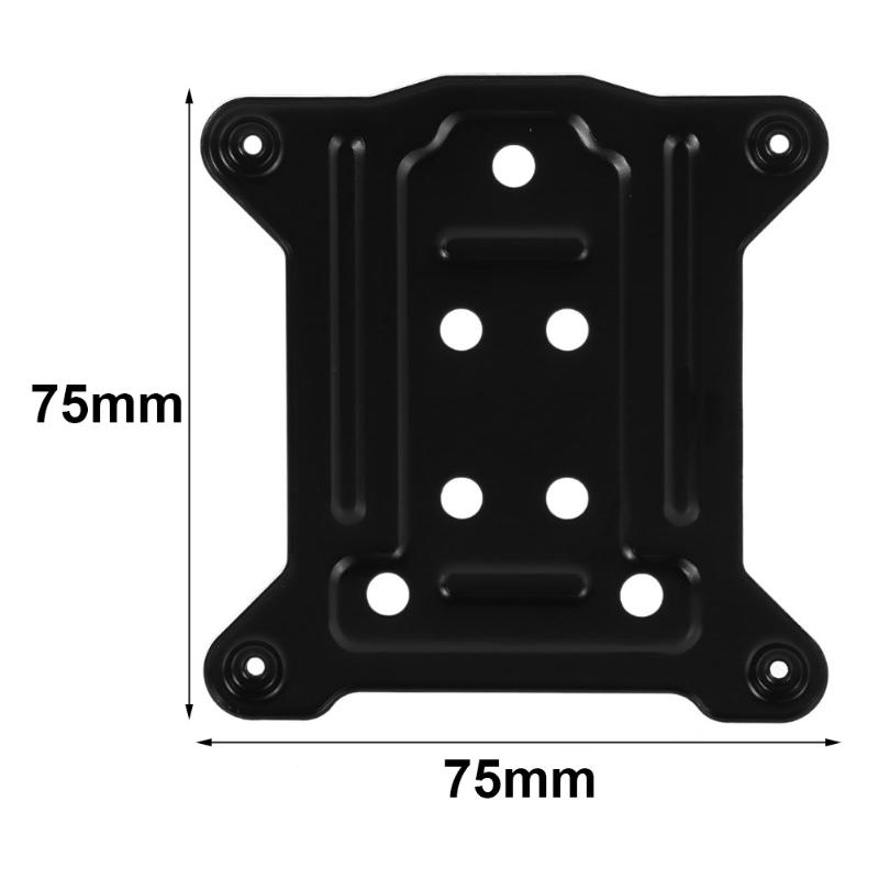75 X 75mm CPU Metal Bracket For LGAL 115X /1150/1155/1156 PC Backplate I3 I5 I7 Cooling Radiators Backplane