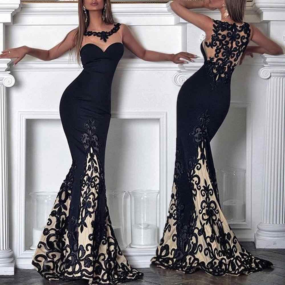 Хит продаж, женское богемное кружевное платье с оборками и v-образным вырезом, без рукавов, вечернее платье, новинка 2019, модные повседневные женские платья # D
