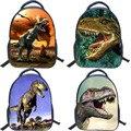 13 Pulgadas Caliente Parque Jurásico Dinosaurio Niños Mochila Para Niños Niñas Zoo Animal Niños Bolsas Escuela Mochila Infantil