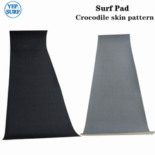 2019 New Black/Gra crocodile skin Surfboard Traction Tail Pads Surf Deck Grips EVA surf traction pad boat deck pad  SUP deck pad