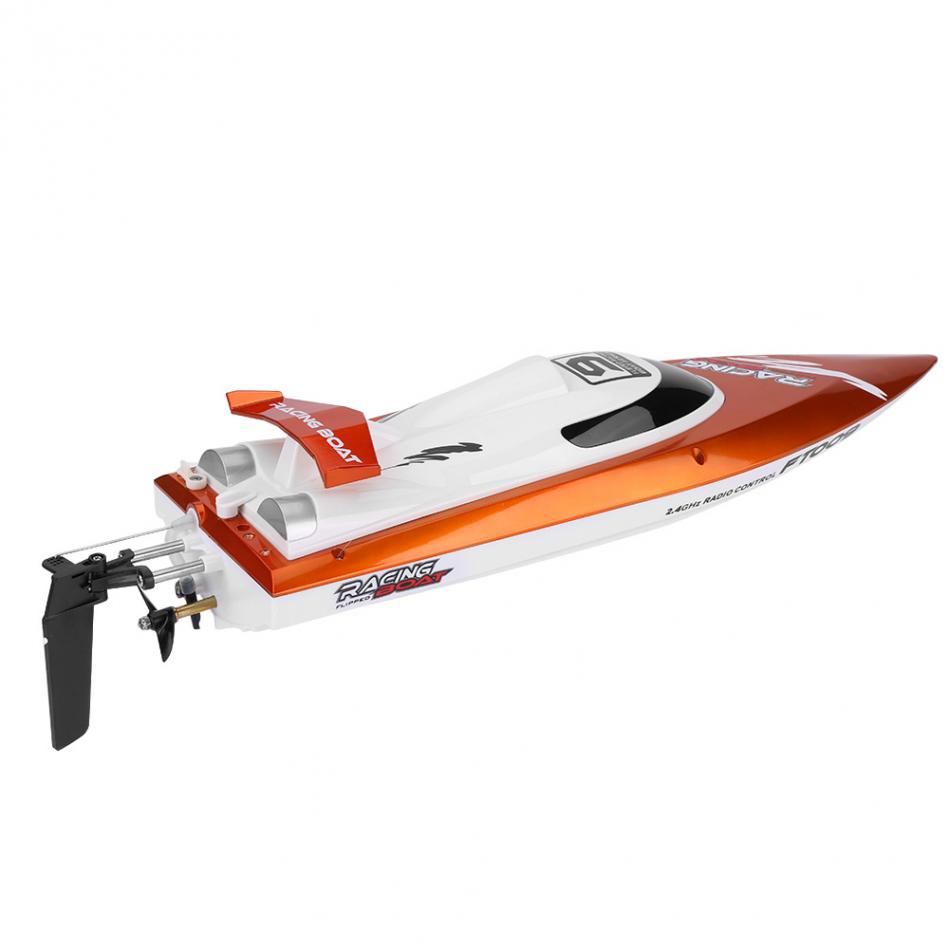 2Colors 2.4GHz 4Channel Remote Control Speedboat Racing RC Speed Boat Toy Model High Quality 30km/h High Speed Racing Boat купить