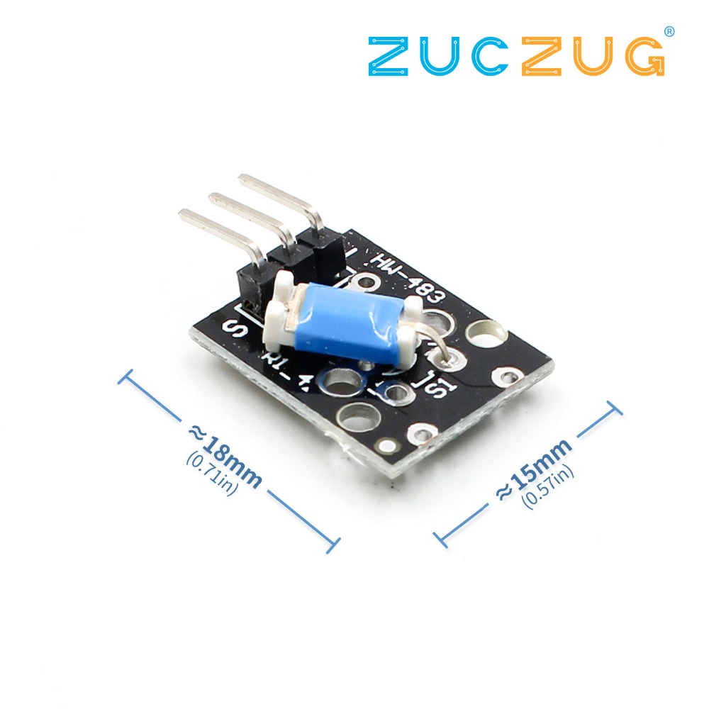 1PCS 3pin KY-020 Standard Tilt Switch Sensor Module