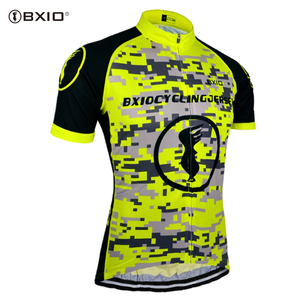 BXIO Cycling Clothing Equipe De France Maillot Ciclismo Summer Pro Cycling Jerseys 2018 Sport Road Bike Jersey BX-0209Y083-J