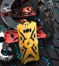 Мода дизайн броня heavy dust металлический алюминий тор ironman защиты телефон оболочки case чехол для sasmung galaxy s8 s8 плюс