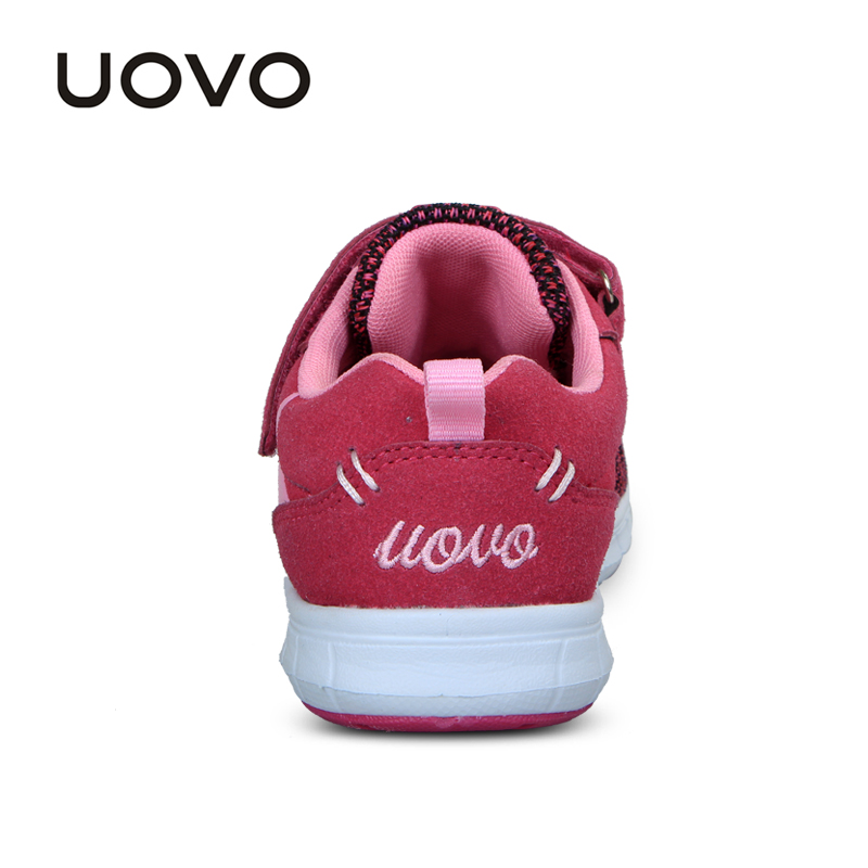 Image 5 - UOVO Spring Kids Shoes Fashion Breathable Mesh Shoes Children Sneakers For Boys And Girls Sport Running Shoes Size 27# 37#sneakers for boyschildren sneakersshoes child sneakers -