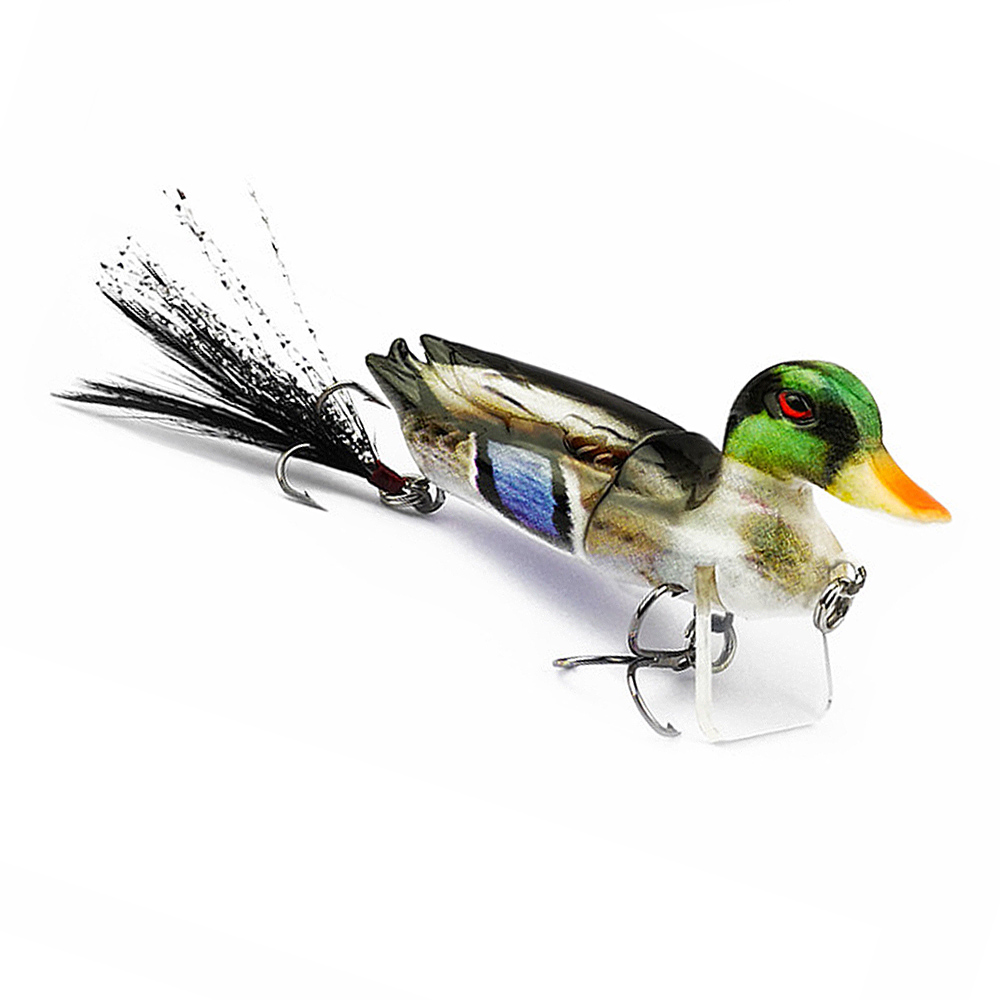 MrY 3D Duck Fishing Lure Baits Swim Baits Fishing Tackle Tools With Hooks