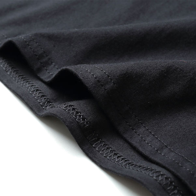 Cotton Casual Black Street Clothing 90s