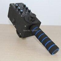 2 оси дистанционного поворотник контроллер для моторизованных голову для камеры Jib Arm