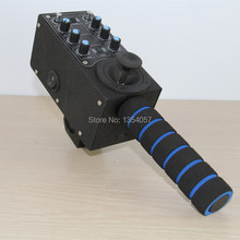 2-axis Uzaktan pan tilt denetleyicisi için motorlu kafa için kamera pergel kol